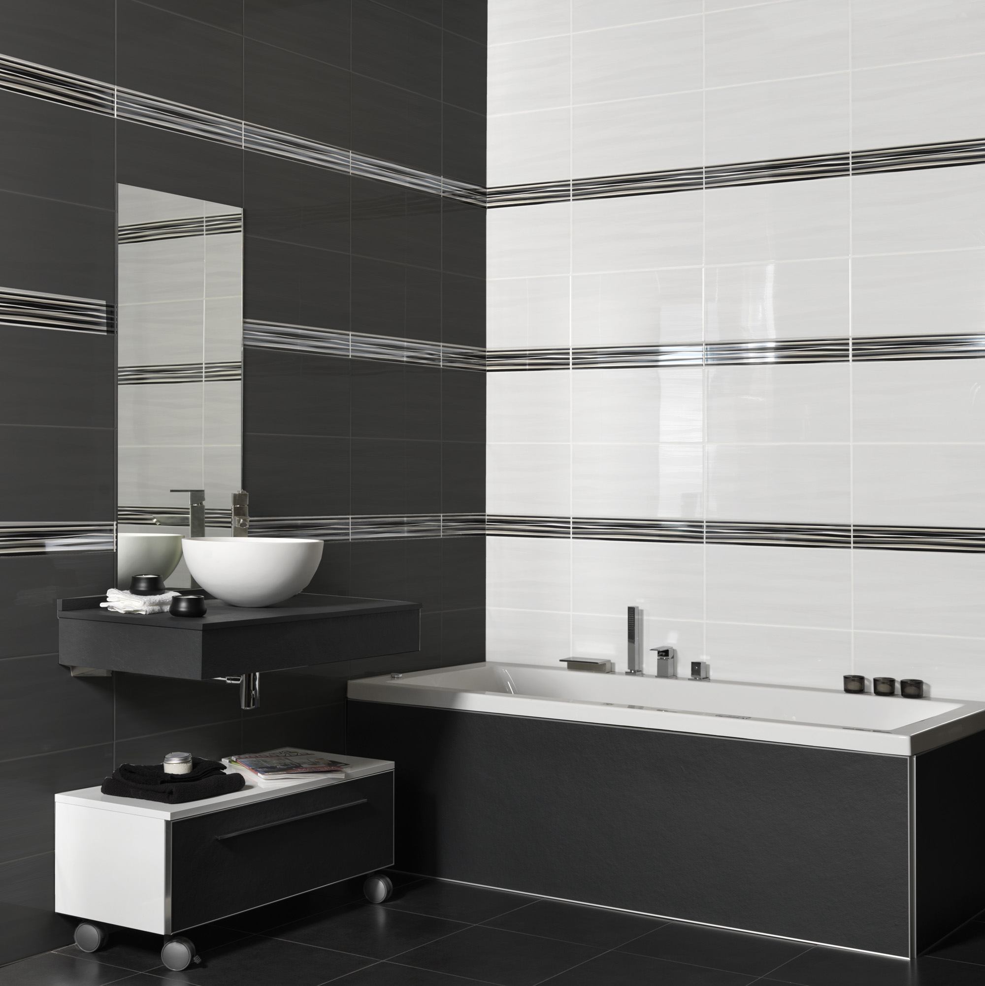 Wave Series Bathroom Tiles International Tiles