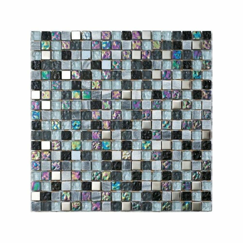 Lagos Grey Mosaic - International Tiles