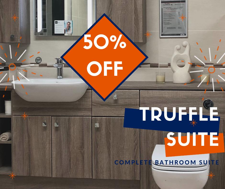 Bathroom ex display Truffle