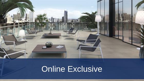 tiles web banner online exclusive