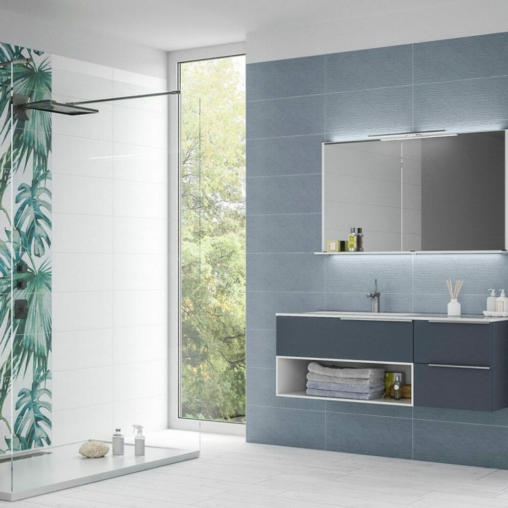 latest-tile-trends-online-tropical-bathroom-wall