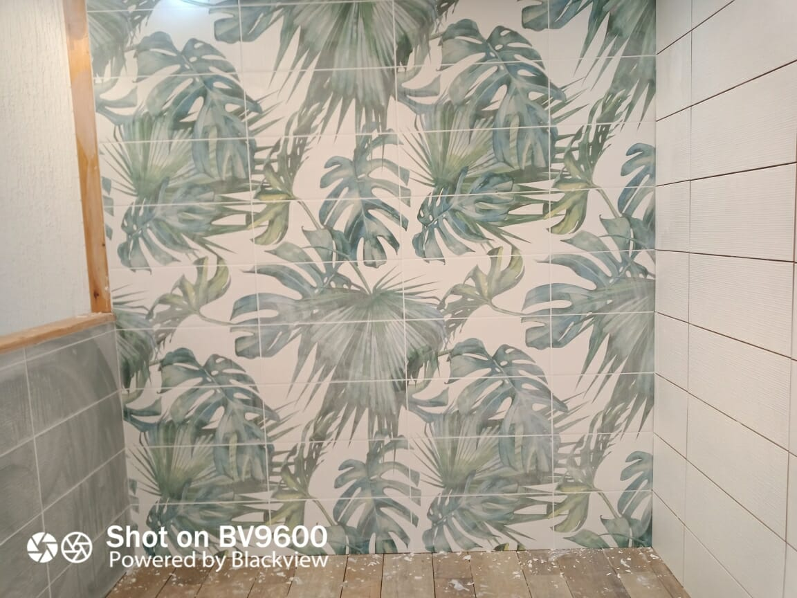 bathroom-showroom-torbay-paignton-tropical-patterned-tiles
