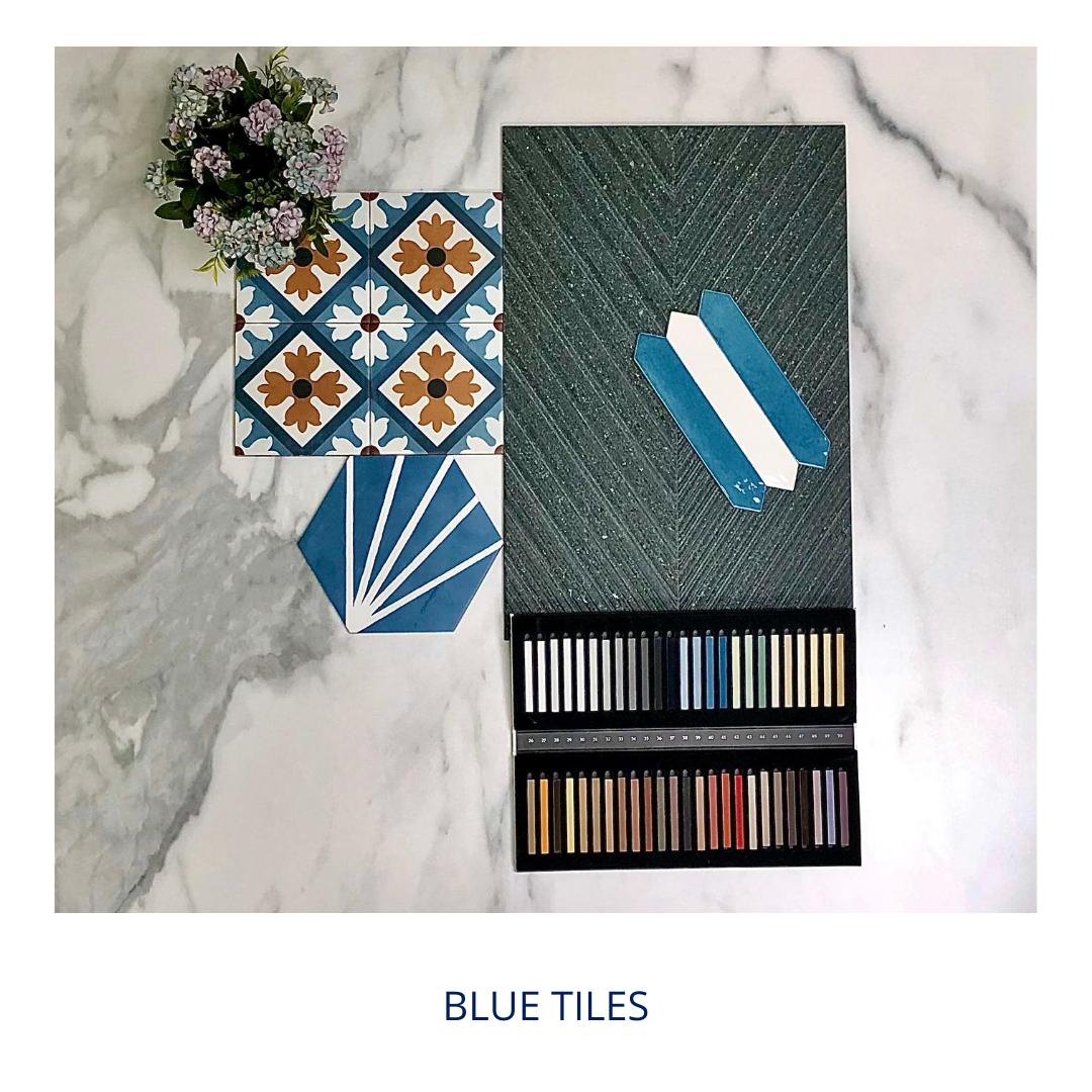 International Tiles Melksham Latest Blue Tiles
