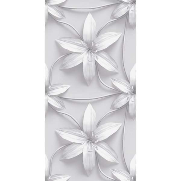 couture-3d-decor-4-grey-flower-patterned-wall-tile